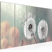 Leinwand-Bilder 100x50 Wandbild Canvas Kunstdruck Pusteblume Pflanzen