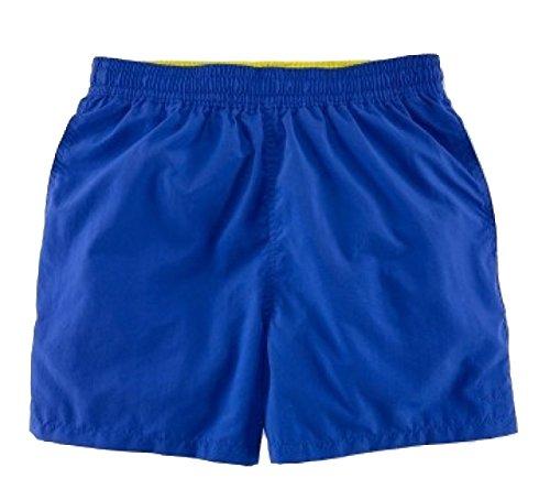 2 Pack Vêtements Hommes Quick Dry Plage Loisirs Couleur Unie Swim Trunk Tailles Et Couleurs Assorties J