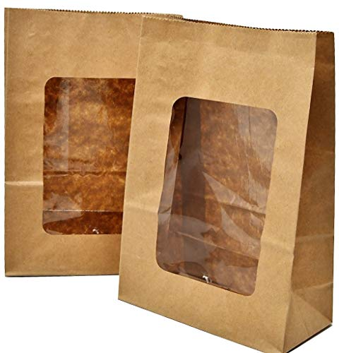 Bakery Direct Kraft - Bolsas galletas ventana PLA