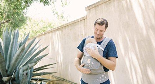 Ergobaby Babytrage Kollektion Original -von Geburt an Paket- (3,2 – 20 kg), Galaxy Grey