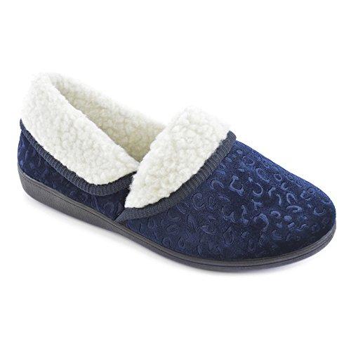 SlumberzzZ, Pantofole donna Navy