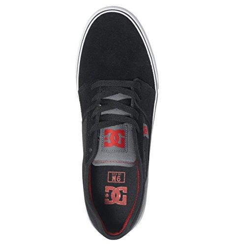 DC Shoes Tonik, Sneakers Basses homme Gris (Black/Grey/Red)