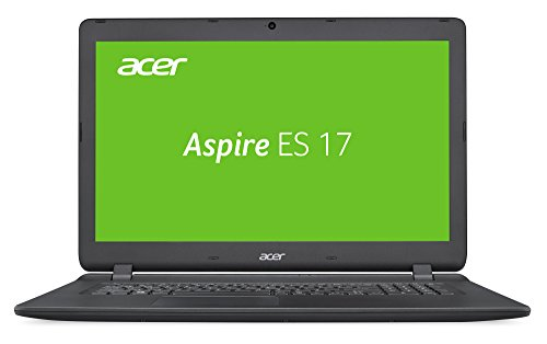 Acer Aspire ES 17 (ES1-732-P6JW) 43,9 cm (17,3 Zoll HD+) Notebook (Intel Pentium N4200, 4GB RAM, 500GB HDD, Intel HD, Linux) schwarz