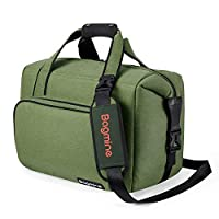 Bagmine Insulated Soft Cooler Bag Leakproof Large 24 Cans Cooler Bag for Picnic Beach Camping and Party Green