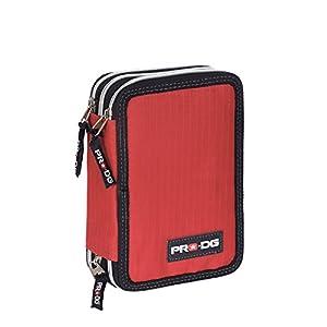 Pro-Dg Plumier, Color Rojo, 21 cm (Karactermanía 56635)