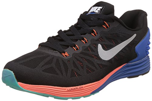 Nike Men's Lunarglide 6 Black Running Shoes - 9 UK/India (44 EU)(10 US)(654433-002)  available at amazon for Rs.5997