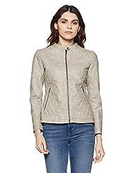 Fort Collins Womens Quilted Jacket (51415 AZ_Beige_Medium)