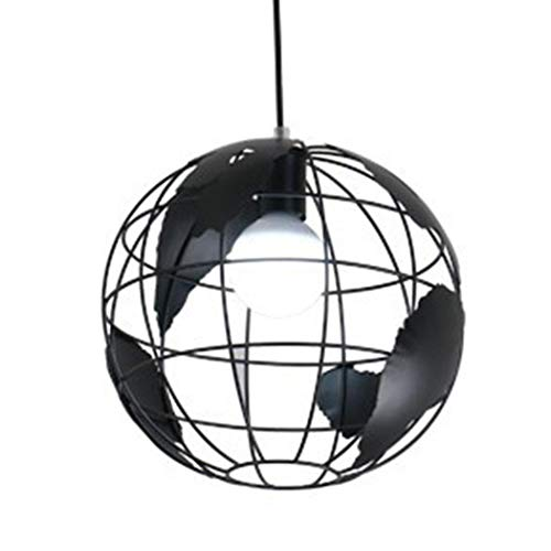 folowe - Pantalla para lámpara con Forma de Bola, de Hierro, para decoración de lámpara Colgante