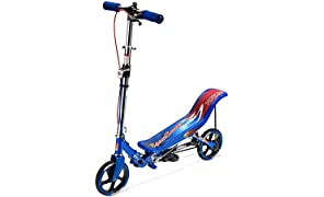 Space Scooter Junior Scooter d'action de Pompe, Trottinettes Enfant