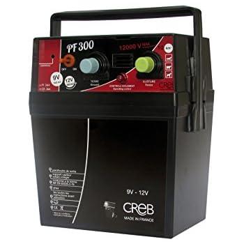 Creb PF300 Electrificateur Portable 240mJ Plastique Noir/Rouge 22 x 30 cm