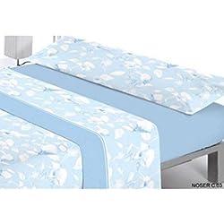 Juego de cama 3 piezas Reig Marti Noser cama de 135 color Azul