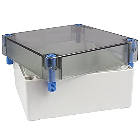 ASI ASI011700583 ABS NEMA 4X Enclosure with Clear Cover, 5.12