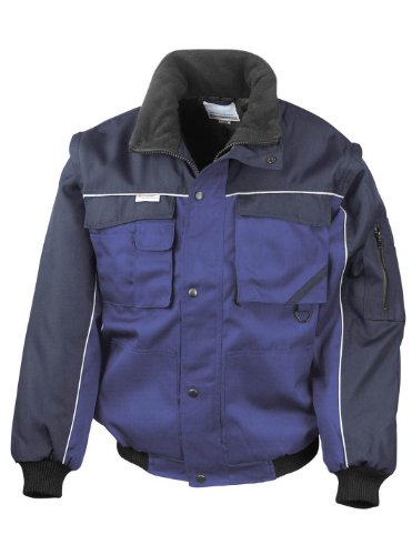 Resultado Workguard–Funda con cremallera resistente chaqueta de piloto, Hombre, color azul/azul marino, tamaño XXX-Large