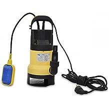 Bomba de Aguas Sucias Submergible 750W para Agua Sucia 150L/m con Interruptor Flotante