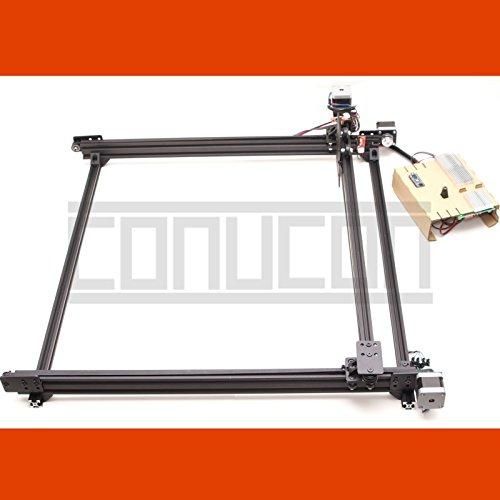 2DTwin XY Linearführung (1x1m) mit USB CNC Schrittmotor Steuerung und Software