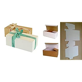 25 x Self Assembly Gift Boxes (#A) Perfect for Gift Presentation for toiletries, chocolates, cakes, biscuits, dried food, ceramics, sweets etc