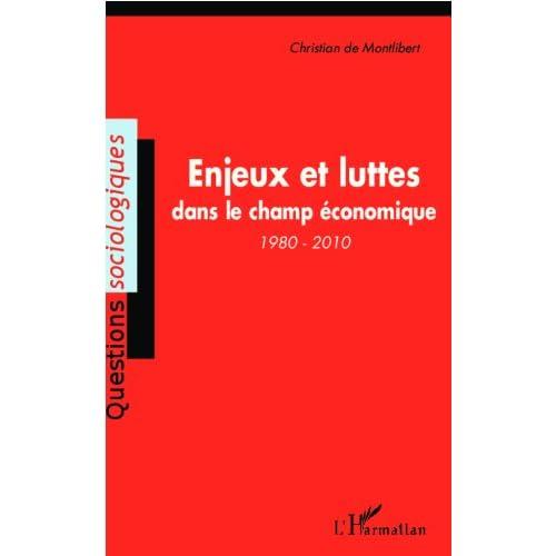 Enjeux et luttes dans le champ économique (1980-2010) (Questions sociologiques)