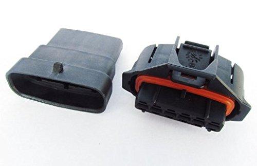 cnkf 5set 6pin Bosch BSK sigillato maschio femmina connettore per pompa iniezione diesel 1928403204192840320 - Elec Pompa Carburante