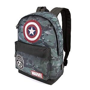 41MaHx4cHoL. SS300  - Capitán América Army-Mochila HS
