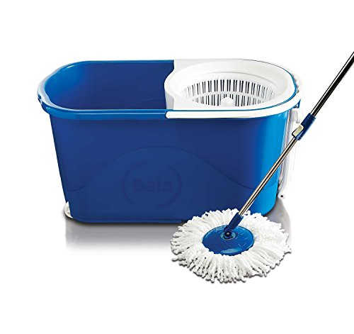 Gala Spin mop with easy wheels and bucket for magic...