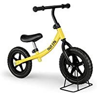 outlife Balance Bike No Pedal Bicycle with Adjustable Handlebar and Seat for Kids from 2-6 Years Old