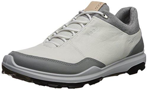 ECCO Herren Mens Biom Hybrid 3 GTX Golfschuhe, Weiß (White/Black 51227), 45 EU - Golf Hybrid Ecco Biom