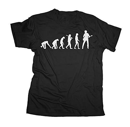 Ma2ca - Evolution - Basser Bassist Bass T-Shirt-black-xl