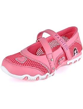 SPEEDEVE Merceditas para Niñas Zapatos de Princesa Transpirables de Verano para Boda Cumpleaños