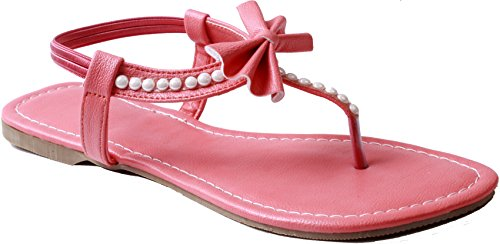 BFM Designer Women's party wear Pink Sandal (39EU (6 UK/INDIA))