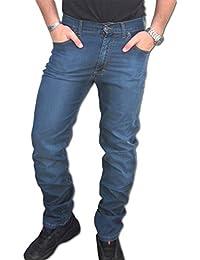HOLIDAY JEANS Pantalone LEGGERO mod. Crateus o Alexander Uomo COTONE TG. 46 48 50 52 54 56 58 60 Elasticizzati MADE IN ITALY ESTATE 2018