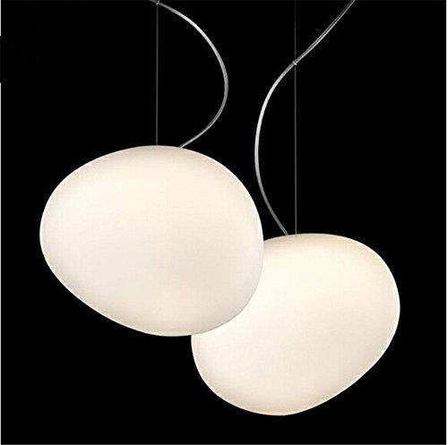 Pendentif Globe nordique blanc Feux de bille de verre Suspension Suspension Luminaire Lustre Cuisine Éclairage lamparas colgantes,Grand