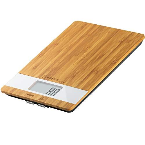 Digitale Küchenwaage aus Bambus