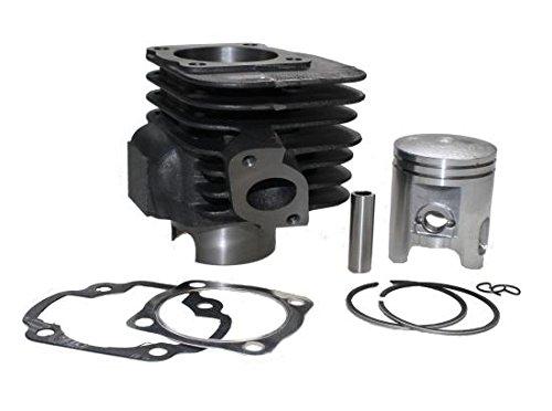 Booster Kit (Zylinder Kit 100ccm AC luftgekühlt für Minarelli Motoren, MBK YN 100 Ovetto, YQ 100 Nitro, YW 100 Booster, Polaris Predator 90 2 Takt, Yamaah YN 100 Neos, YQ 100 Aerox, YW 100 BWS)