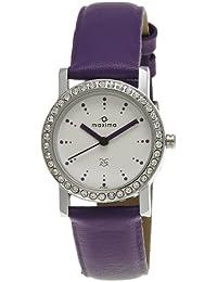 Maxima Attivo Analog White Dial Women's Watch - 27122LMLI
