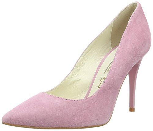 Buffalo London 11877-305 Suede, Scarpe con Tacco Donna Rosa (Rose 52)
