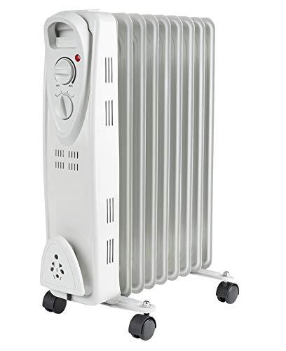 Öl Radiator | Radiator | Elektroheizung | Heizkörper | Heater | Öl-Radiator | Ölradiator | Heizgerät | Paneelheizkörper | Thermostat | Überhitzungsschutz (9 Rippen) (öl Heizgerät Radiator)