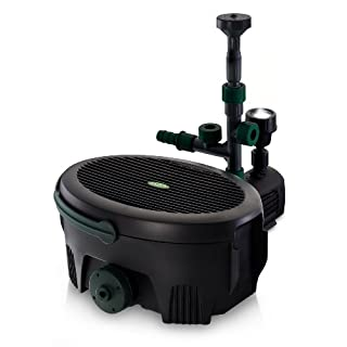 Blagdon Inpond 5 in 1 Pond Pump and Pond Filter, 6000 Litre, 5 W