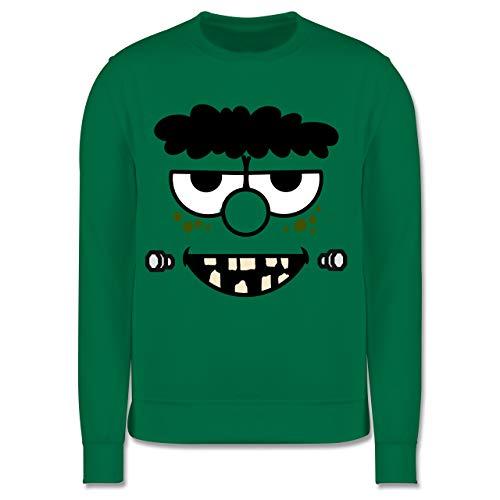 Kostüm Kleiner Frankenstein Junge - Shirtracer Karneval & Fasching Kinder - Frankensteins Monster - Karneval Kostüm - 5-6 Jahre (116) - Grün - JH030K - Kinder Pullover