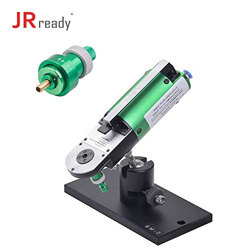 JRready ST4011: YJQ-W7Q Pneumatic cable Crimper Air Tools & 86-37 Positioner & BM-2 Adjustable Base Mount & F2 air control system for Cable Connector 16-28AWG Mount Crimp