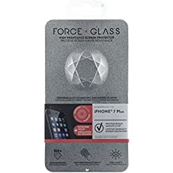 Forceglass Film de protection d'écran en verre trempé pour iPhone6 Plus/6S Plus/7 Plus/8 Plus