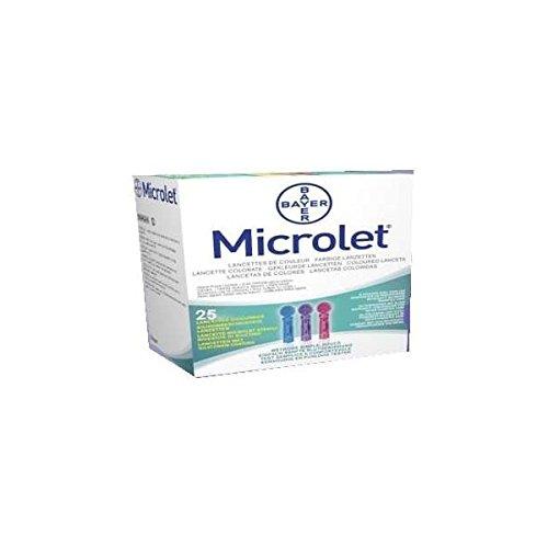 Microlet Lancets 25Pz