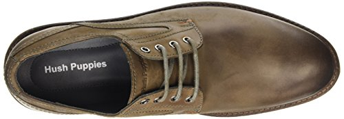 Hush Puppies Rohan Rigby, Oxford à lacets homme Gris (Grey)