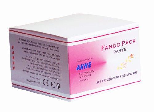 Fangopackung - Akne - Paste - 100ml - Heilschlamm bei Pickel, Mitesser, Hautpusteln, Hautunreinheiten