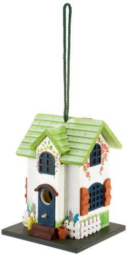 """Elmato 10838 Vogelhaus """"Summer Bird"""", Dach zum Öffnen"""
