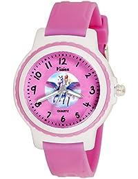 Vizion Analog Pink Dial (Ziana-Princess of Unicorns) Cartoon Character Watch for Kids-V-8829-4-1