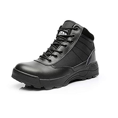 Adong Mens Waterproof Shoes High Rise Boots Jungle Trekking Schuhe Lace-up Non Slip Breathable Outdoor Schuhe Sportschuhe,B,41EU
