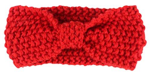 EOZY Bébé Bandeau Accessoire Cheveux Nœud Tricot Head Turban Bande Elastique #2