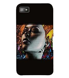 PRINTSWAG BEAUTIFUL GIRL Designer Back Cover Case for BLACKBERRY Z10