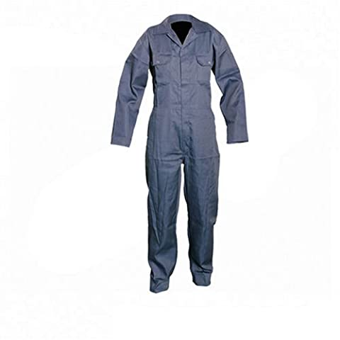 Silverline 983750 Boilersuit - L (112 cm, 44-inch), Navy
