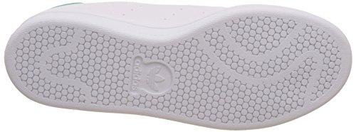 adidas Stan Smith W, Chaussures de Tennis Femme Blanc (Ftwwht/ftwwht/green)